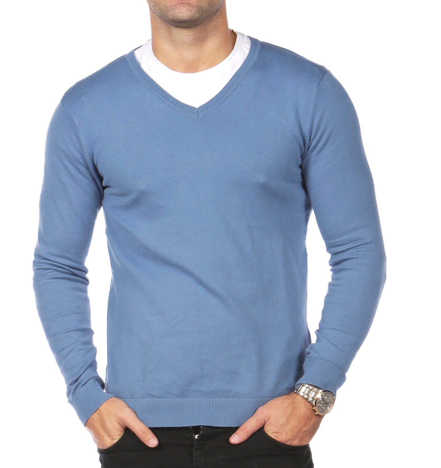 V-Neck Jumpers